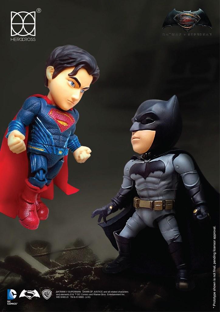 HEROCROSS【蝙蝠俠、超人、神力女超人】蝙蝠俠對超人:正義曙光