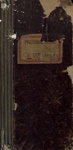 1921 - 1925 Protokoly SK Březiněves (156 stran)