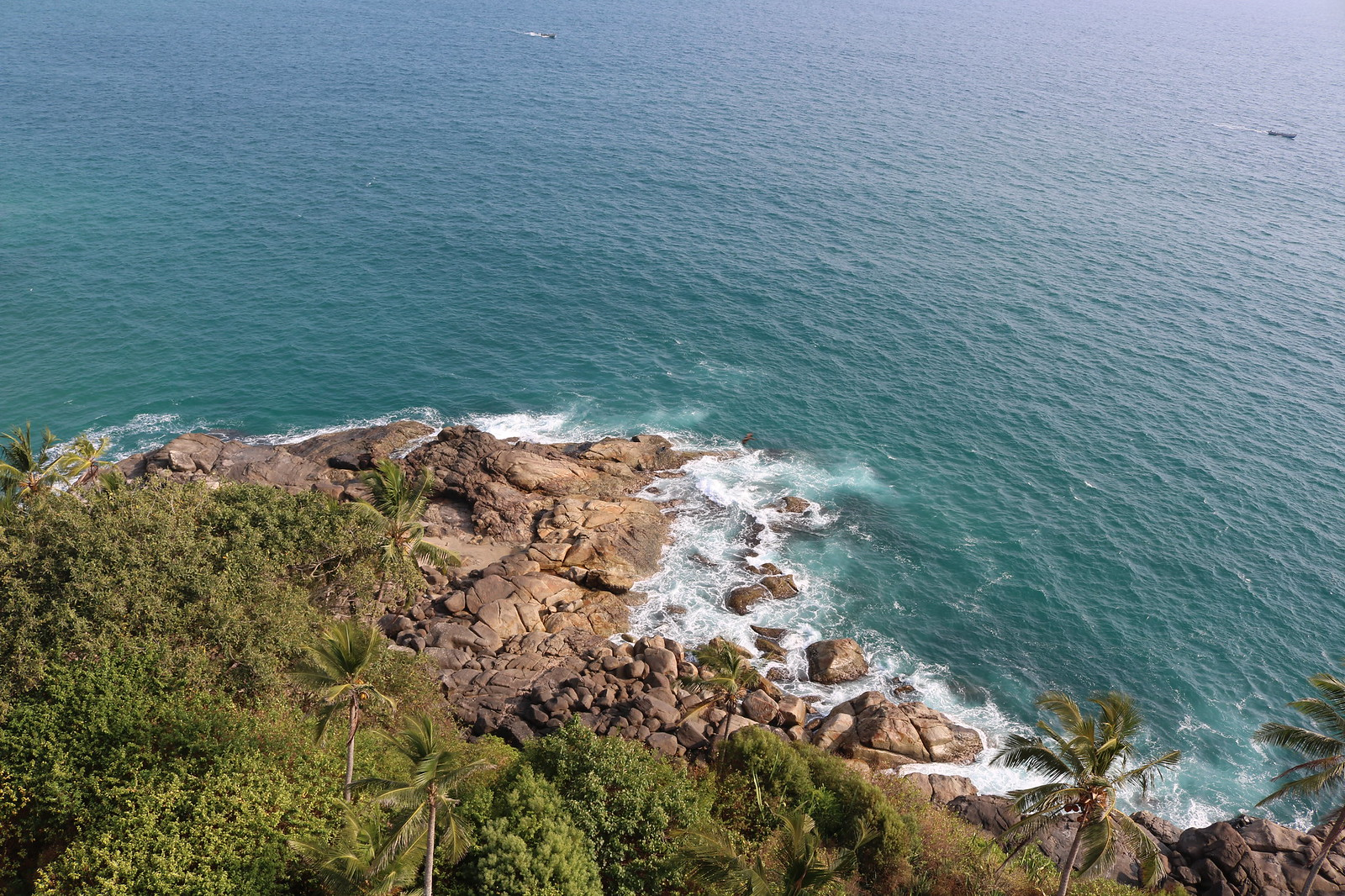 View from Kovalam Lighthouse - Front