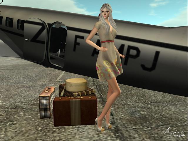 Norah belted dress