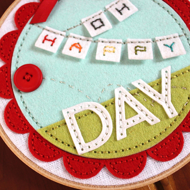 Oh Happy Day Hoop Close Up 4