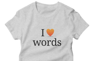 Wordnik T-shirt half