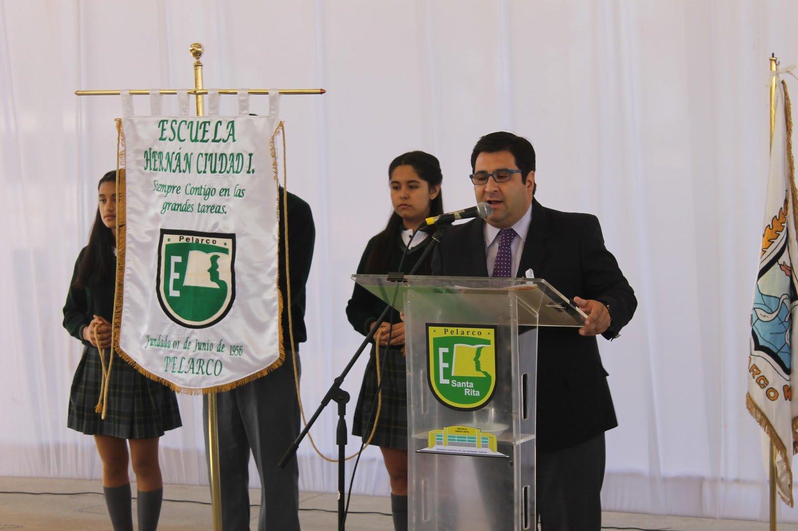 Inauguracion año en Liceo Hernán ciudad(3)