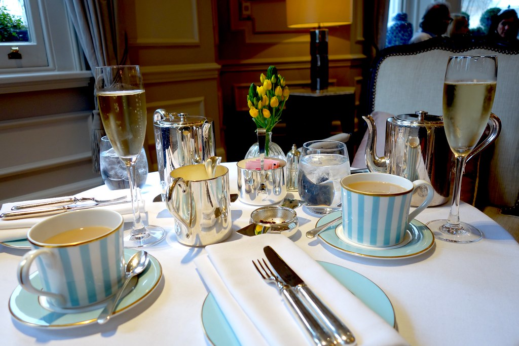 Gluten Free Afternoon Tea at the Kensington Hotel, London