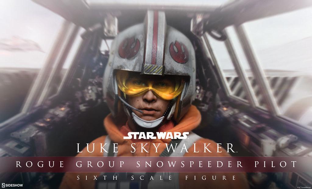 Sideshow Collectibles【路克.天行者:雪地飛翼飛行員裝】Luke Skywalker 1/6 比例作品