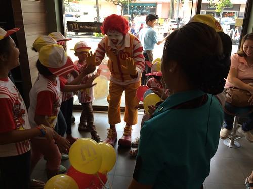 McDonald's Kiddie Crew Workshop 2016 lobby photo