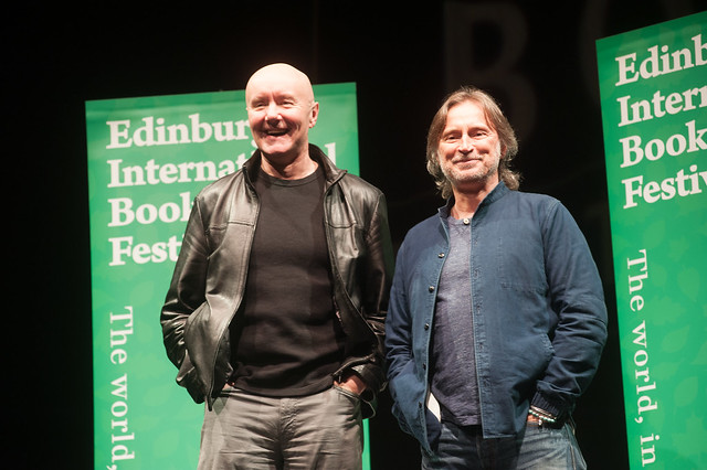 Irvine Welsh & Robert Carlyle photocall