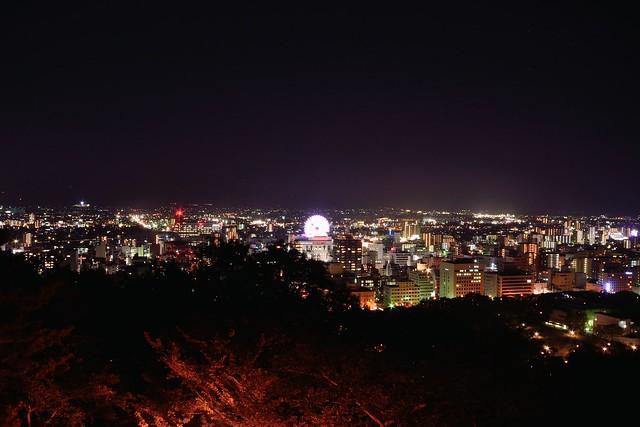 松山の夜景2