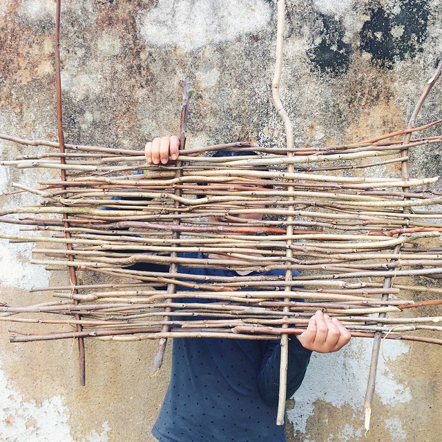 weaving with branches