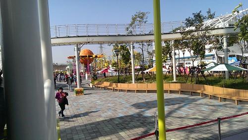 台北兒童新樂園設施好好玩!誰說遊樂園是兒童的專利呢! (7)