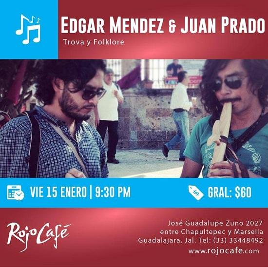 Edgar Mendez y Juan Prado