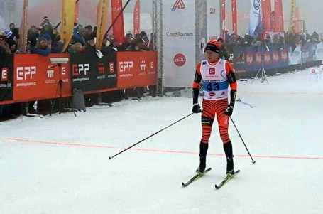Mlhou pokrytá Jizerská 50 se stala otevřeným mistrovstvím Skandinávie