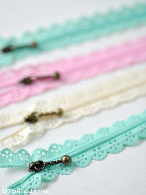 Lace Zips 5