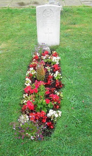 War Grave in St Martin's Churchyard, Bladon