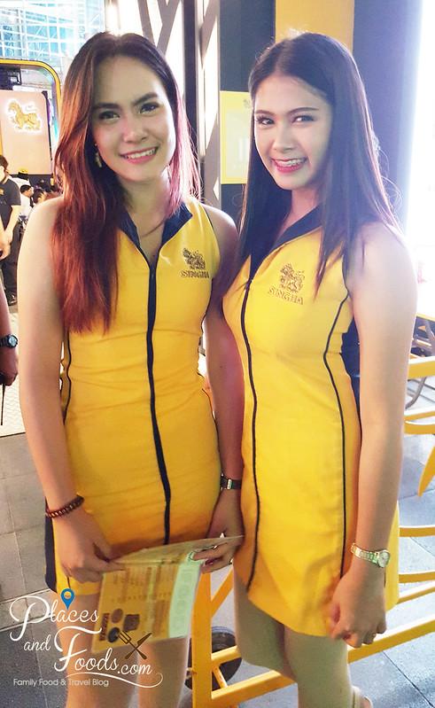 singha beer garden bangkok singha girls