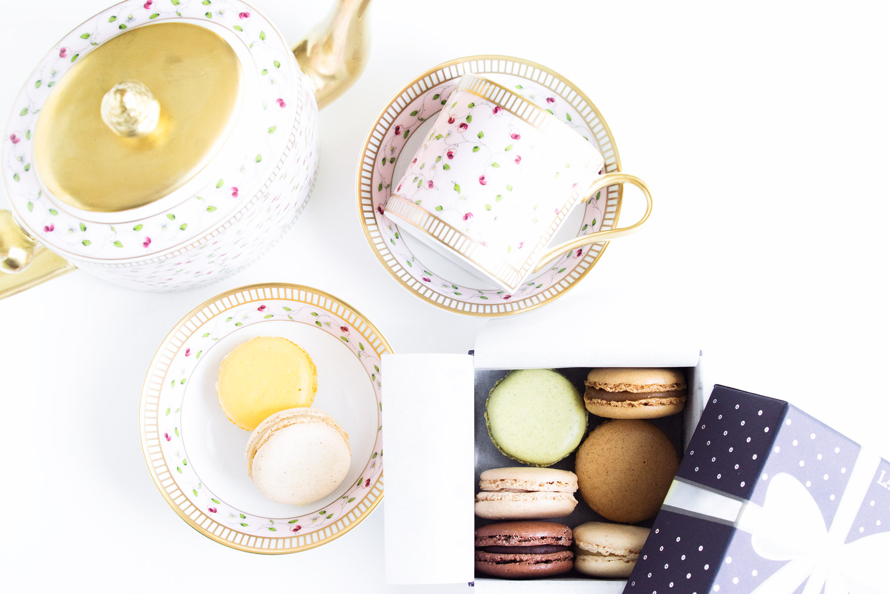 Ladurée tea set