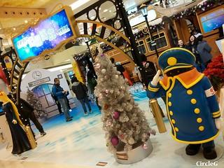 將軍澳 坑口 東港城 HONGKONG 松本零士 幻想時空 2015 CIRCLEG 聖誕裝飾 (2)
