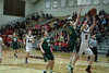 Junior Morgan Clausen goes for a layup