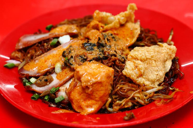 Chicken Curry Wantan Mee