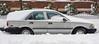 Corolla + Snow = DeLorean