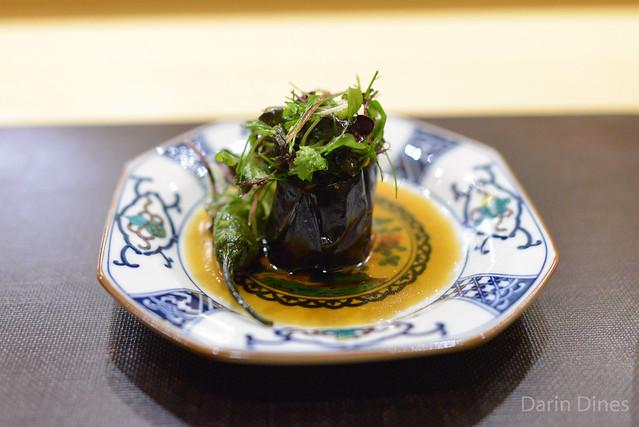 Grilled Japanese Eggplant shishito