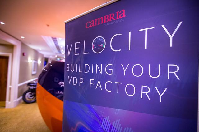 Velocity Overdrive - Cambria Conference 2016