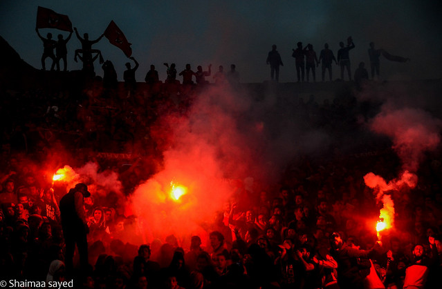 Ultras celebrated the 4th anniversary of the port said massacre