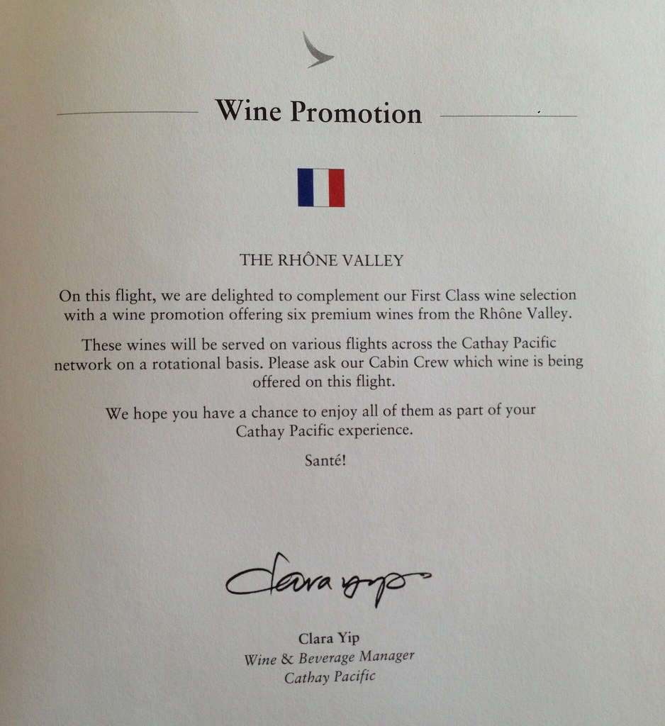 Wine promotion of the month