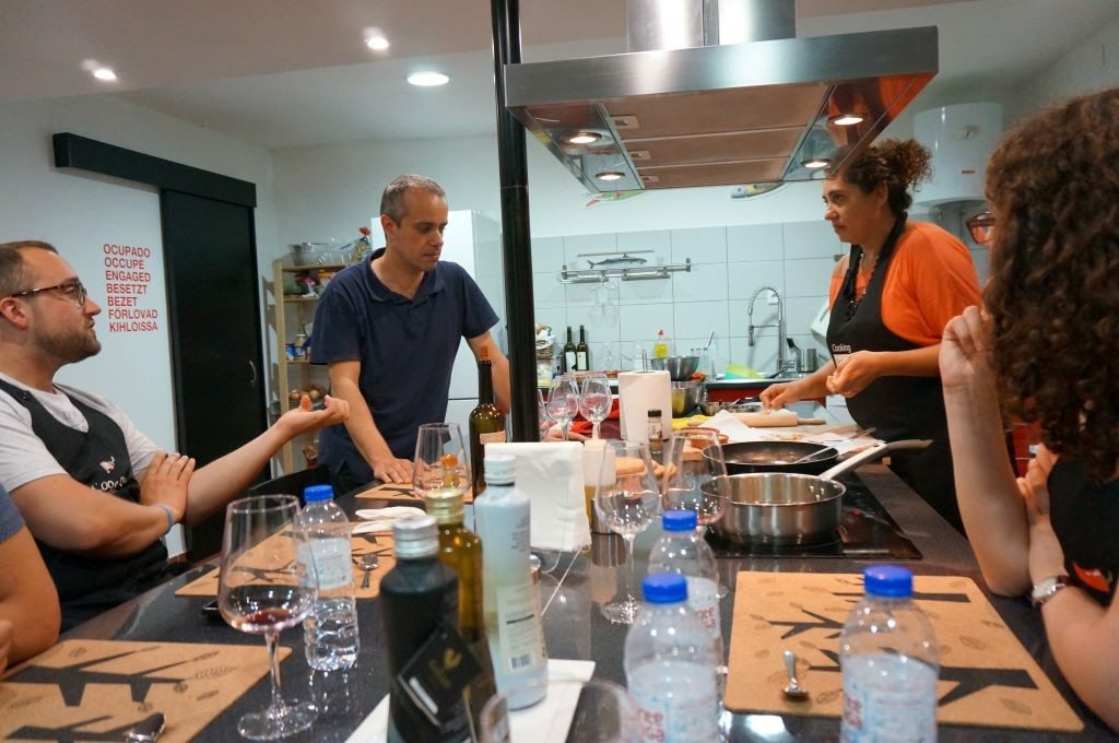 We had a great time and met some wonderful new friends at Cooking Lisbon in Portugal.