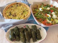 CHEZ SIMONE. Riz Provençal. Provencal Rice and Qu…