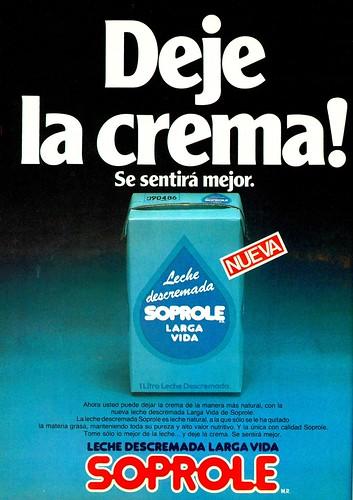 Leche Descremada Soprole (1985)