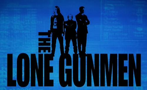 The Lone Gunmen - Poster 1