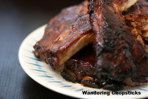 Pork Ribs with Gochujang and Samjang (Korean Chile and Soy Bean Pastes) 1
