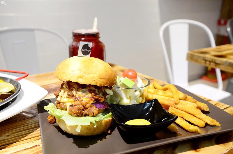 樹林車站美食推薦板橋漢堡M&M Burger菜單 (50)