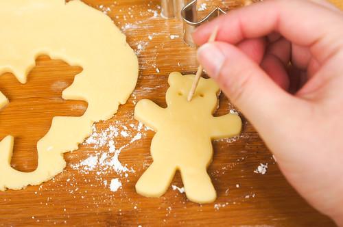 クマのクッキー