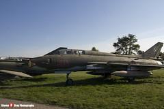 304 - N17532368304 - Polish Air Force - Sukhoi SU-22 UM-3K - Polish Aviation Musuem - Krakow, Poland - 151010 - Steven Gray - IMG_0317