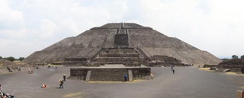 Teotihuacan: la Pyramide du Soleil