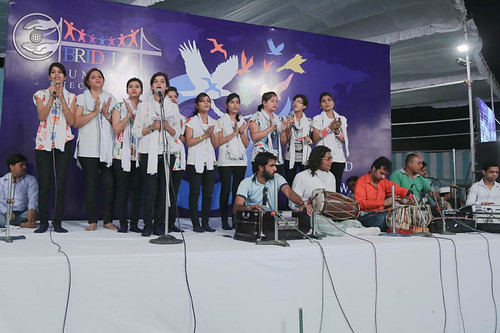 English devotional song by young devotees