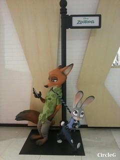 CIRCLEG 德福MCL 電影 優獸大都會 zootopia 狐狸 兔 (1)