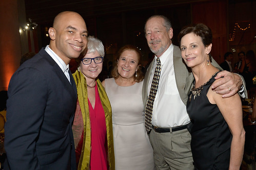 Barron Channer, Victoria Rogers, Susana Ibarguen and Jane Wooldridge at PAMM Art of the Party
