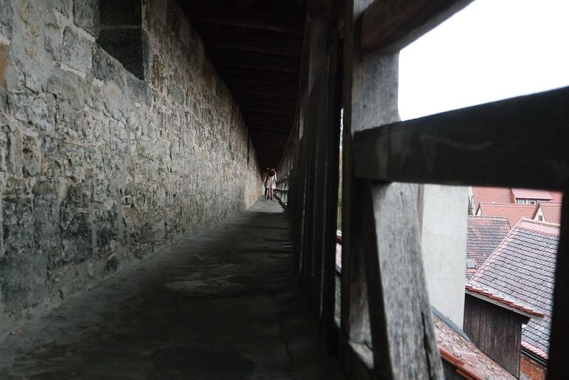 Muralla cubierta de Rothenburgo