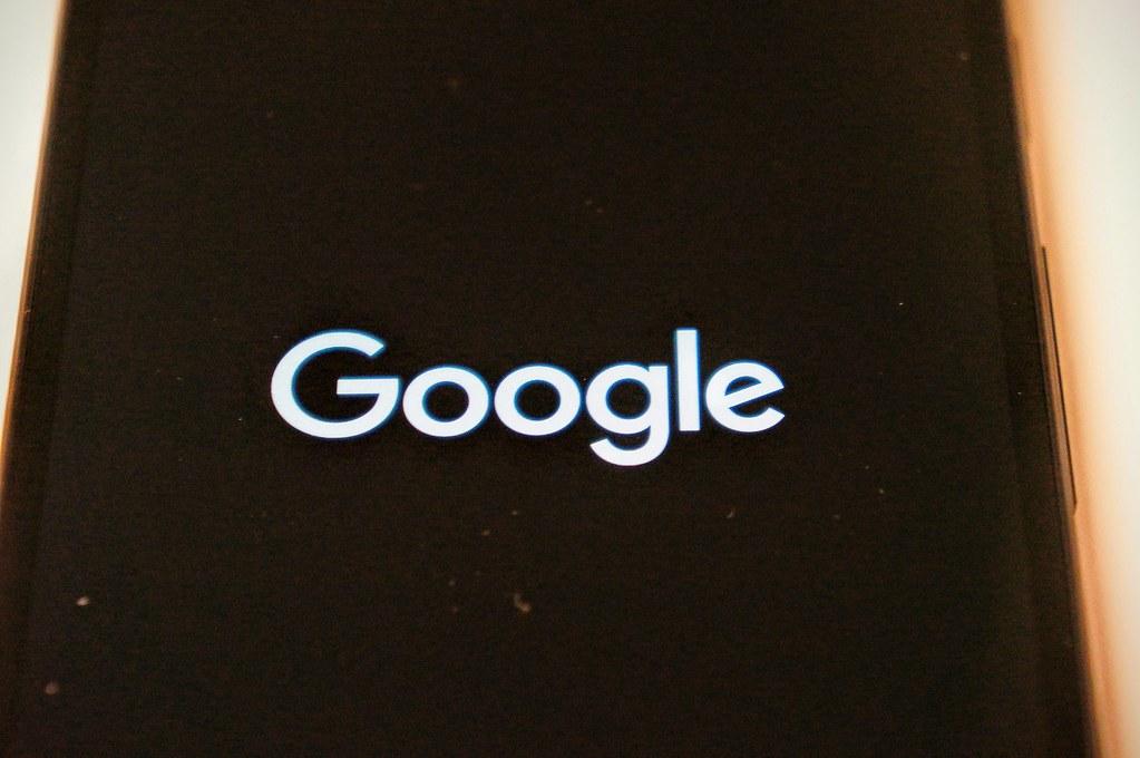 開機了,有google字樣