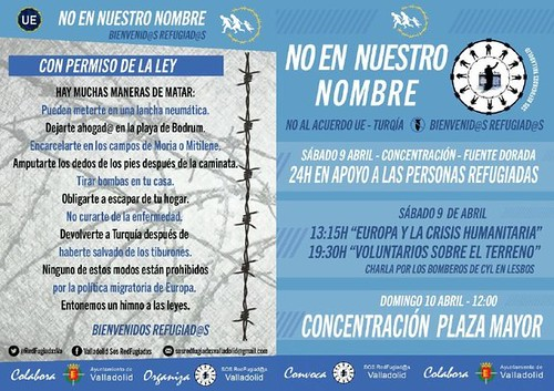 SOS Refugiados Valladolid. Programa