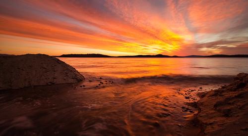 sky lake water sunrise newengland newhampshire nh lakewinnipesaukee robertallanclifford robertallancliffordcom