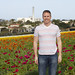 Self Portrait of me in front of the Carlsbad Flower Fields by San Diego Shooter