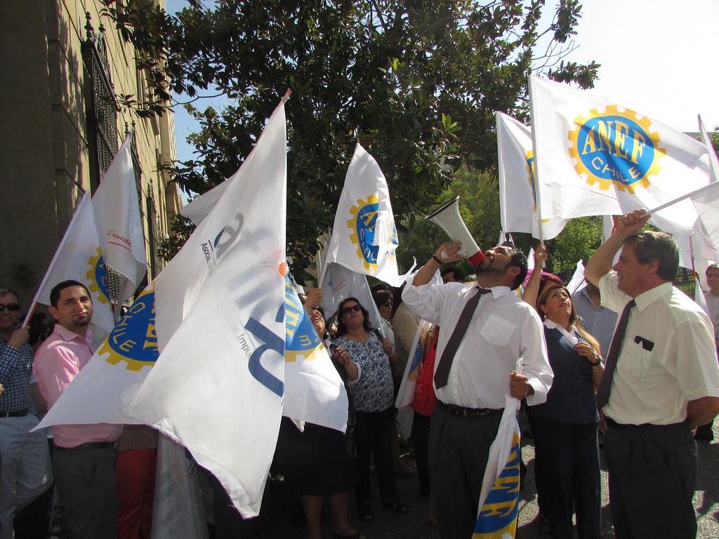 AET Nacional y Regionales adhieren a Paro Nacional convocado por la CUT y ANEF - 15 Marzo 2016