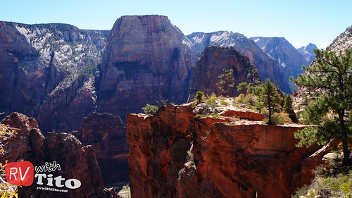 Tue, 10/13/2015 - 11:14 - Angel's Landing at Zion National Park. Watch video: youtu.be/mWZzAPB52Sc