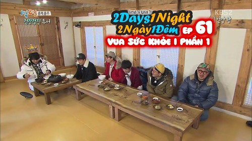 [Vietsub] 2 Days 1 Night Season 3 Tập 61