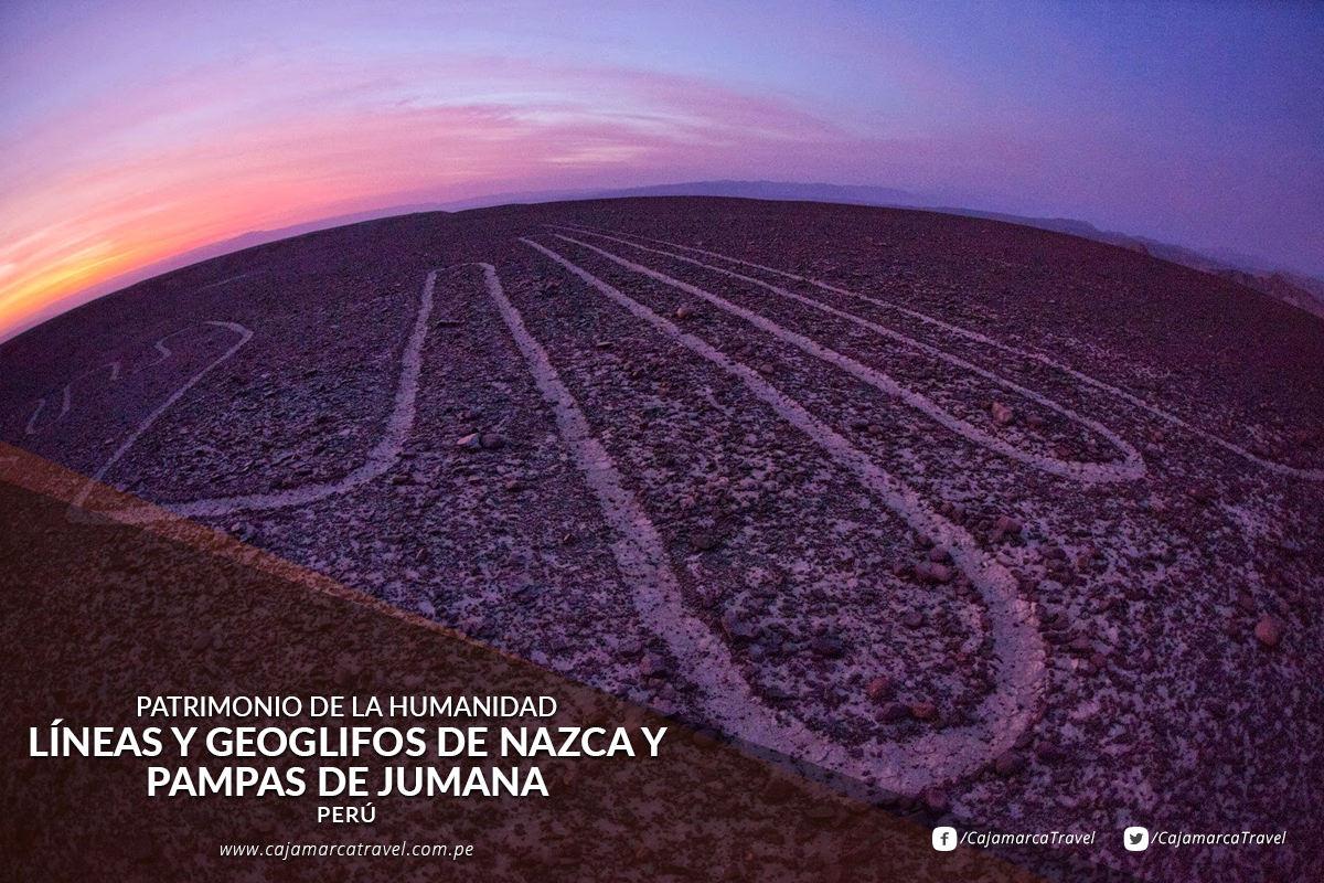 Líneas y Geoglifos de Nazca y Pampas de Jumana