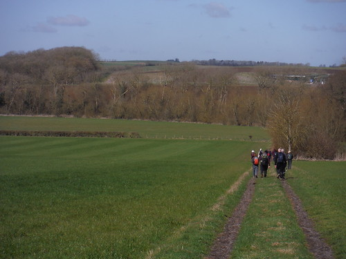 Down into the Thame Valley